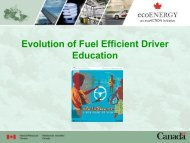 Evolution of Fuel Efficient Driver Education - International ...
