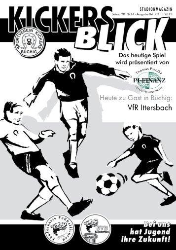 VfR Ittersbach - SV Kickers Büchig