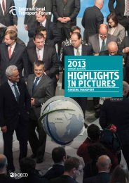 HIGHLIGHTS - International Transport Forum