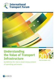 Understanding the Value of Transport Infrastructure ...
