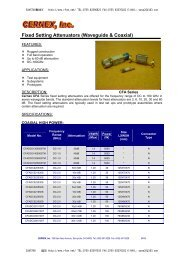 Fixed and Level Setting Attenuators (Waveguide & Coaxial) - Rfoe.net