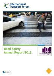 Road Safety Annual Report 2013 - International Transport Forum