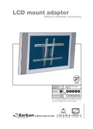 LCD mount adaptor - VB