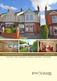 26 Corder Road | Ipswich | Suffolk | IP4 2XD Guide ... - Fine & Country