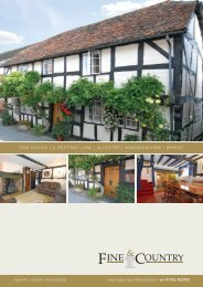 Oak HOuSe | 2 Meeting Lane | aLceSter ... - Fine & Country