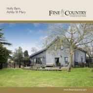 Holly Barn, Ashby St Mary - Fine & Country