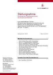 Stellungnahme Nr.: 29/2013 - Deutscher Anwaltverein