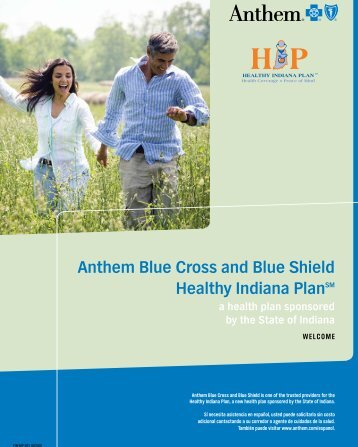Anthem Blue Cross and Blue Shield Healthy Indiana ... - IU Health