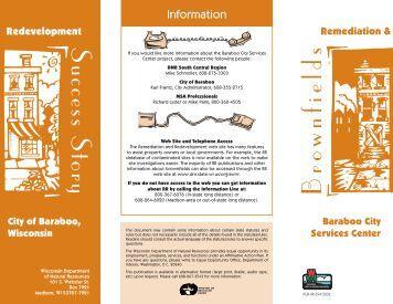 Baraboo Brochure - Wisconsin Department of Natural Resources