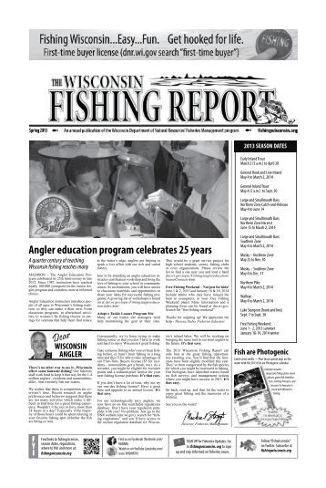 Angler education program celebrates 25 years - Wisconsin ...