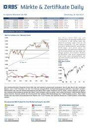 RBS Daily Newsletter 18/04/2013