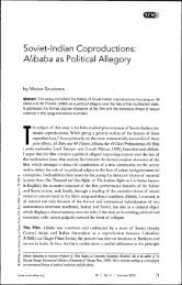 Alibaba as Political Allegory - MIT Architecture