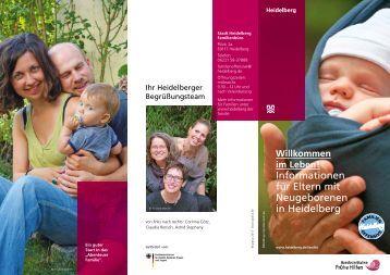 Informationen für Eltern mit Neugeborenen in ... - Stadt Heidelberg