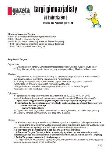 targi gimnazjalisty - Gazeta.pl