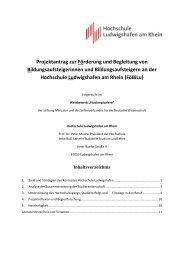 Projektantrag der Hochschule Ludwigshafen am Rhein (PDF)