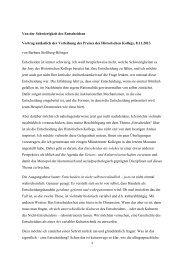 Festvortrag von Barbara Stollberg-Rilinger - Stifterverband für die ...