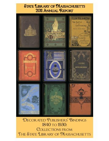 Decorated Publishers' Bindings 1840 to 1930 ... - DSpace Home