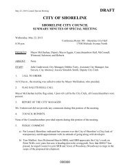 Minutes of Special Meeting of May 22, 2013