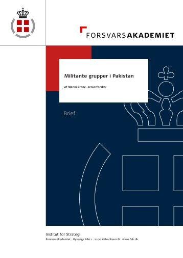 Militante grupper i Pakistan.indd