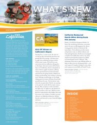 What's New in CA Winter 2013 - Industry - Visit California