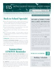 Back-to-School Specials! Summertime ATM/POS ... - Liberty Online