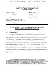 Plaintiffs' memorandum in opposition to Defendant's motion for ...