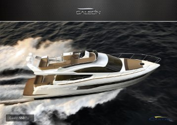 Page 1 Page 2 550 Fly The upcoming Galeon 550 Fly is bound to ...