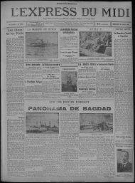 30 avril 1930 - Presse régionale