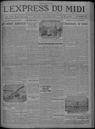 18 septembre 1928 - Presse régionale