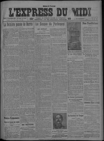 13 décembre 1923 - Presse régionale
