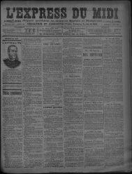 27 avril 1894 - Presse régionale