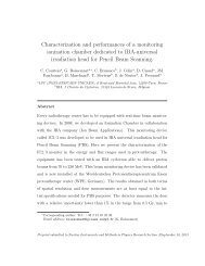 Characterization and performances of a monitoring ... - HAL - IN2P3