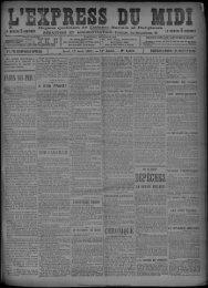 15 Août 1901 - Bibliothèque de Toulouse