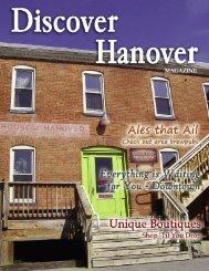 2011 Magazine.qxd - Hanover Area Chamber of Commerce