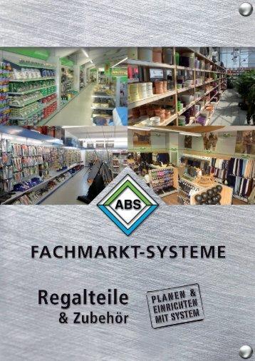 Regalteile - ABS Fachmarkt Planungs