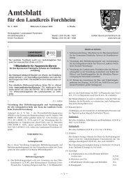 Amtsblatt 2013 Nr. 01 - Landkreis Forchheim