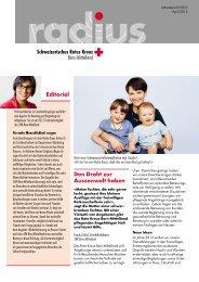 Den Draht zur Aussenwelt haben Editorial - Srk-bern.ch