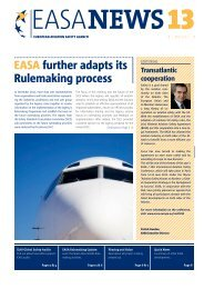 EASA further adapts its Rulemaking process - European Aviation ...