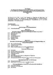 Entwurf Verordnung zum BeWoG - Parisax.de