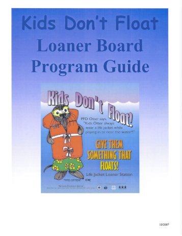 KDF Loaner Board Sponsor Manual - Alaska Department of Health ...