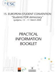 PRACTICAL INFORMATION BOOKLET - Shrani.si