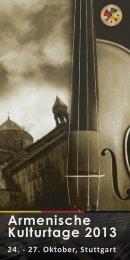 Armenische Kulturtage 2013