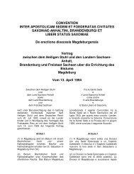 CONVENTION INTER APOSTOLICAM SEDEM ET FOEDERATAS ...