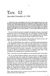 TAPE 12 - The George C. Marshall Foundation