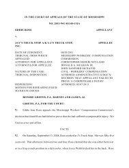 2011-WC-01145-COA - Mississippi Supreme Court
