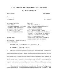 2011-CA-01440-COA - Mississippi Supreme Court