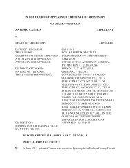 2012-KA-01551-COA - Mississippi Supreme Court