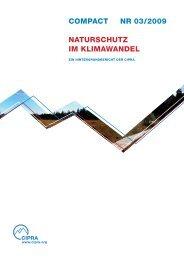 naturschutz und klimawandel - OcCC - SCNAT