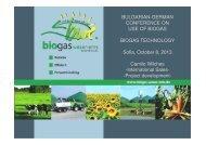 Biogas und Biomasse - AHK Bulgarien