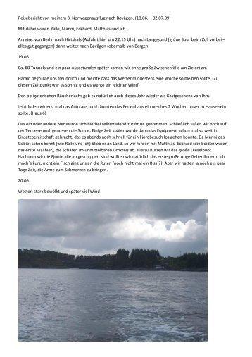 Hier mein Bericht aus Bøvågen_ 09 - Hostarea.de